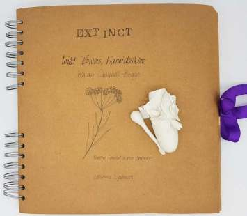 Extinct Book with Tear Bottle and spoon